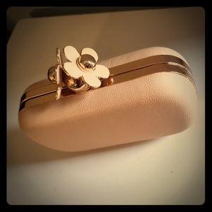 BAM FOREVER pink Hardcase clutch/purse